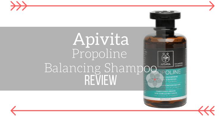 Apivita Propoline Balancing Shampoo Review