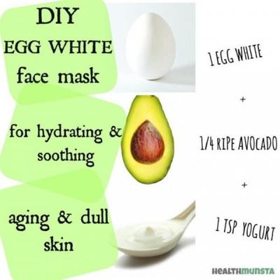 Hydrating Egg White