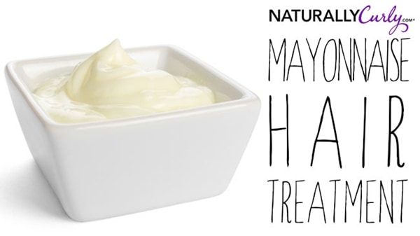 Mayonnaise Hair Treatment
