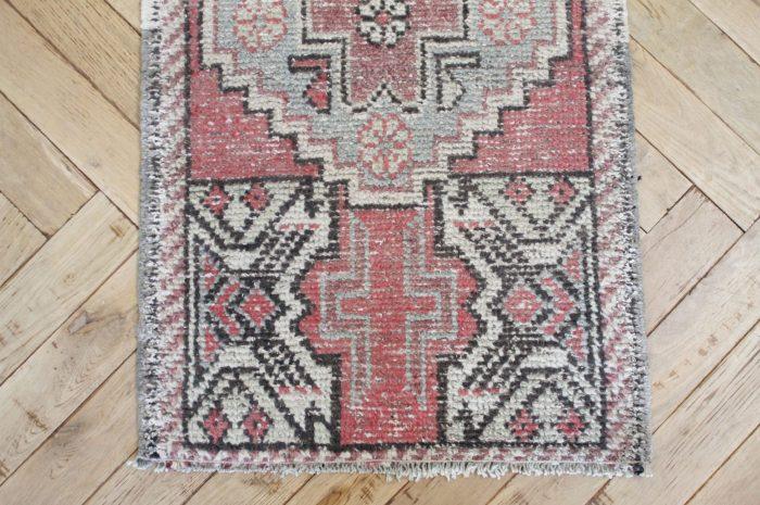 Petite Vintage Turkish Wool Rug