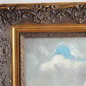 European Oil Painting by Burdett Mason