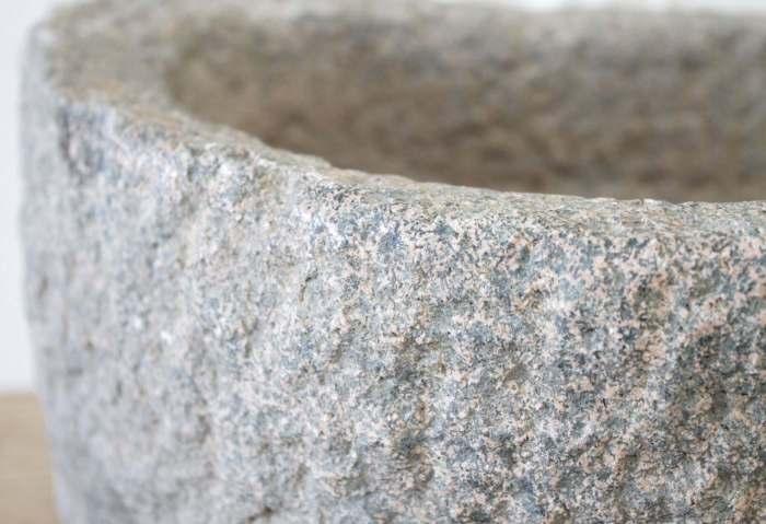 Vintage Stone Mortar Sink or Planter