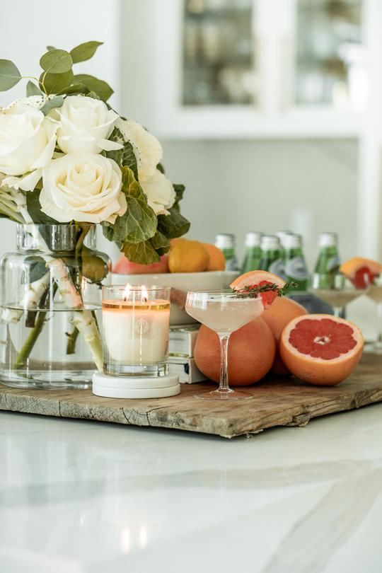 GRAPEFRUIT Seasonal 2-wick Candle