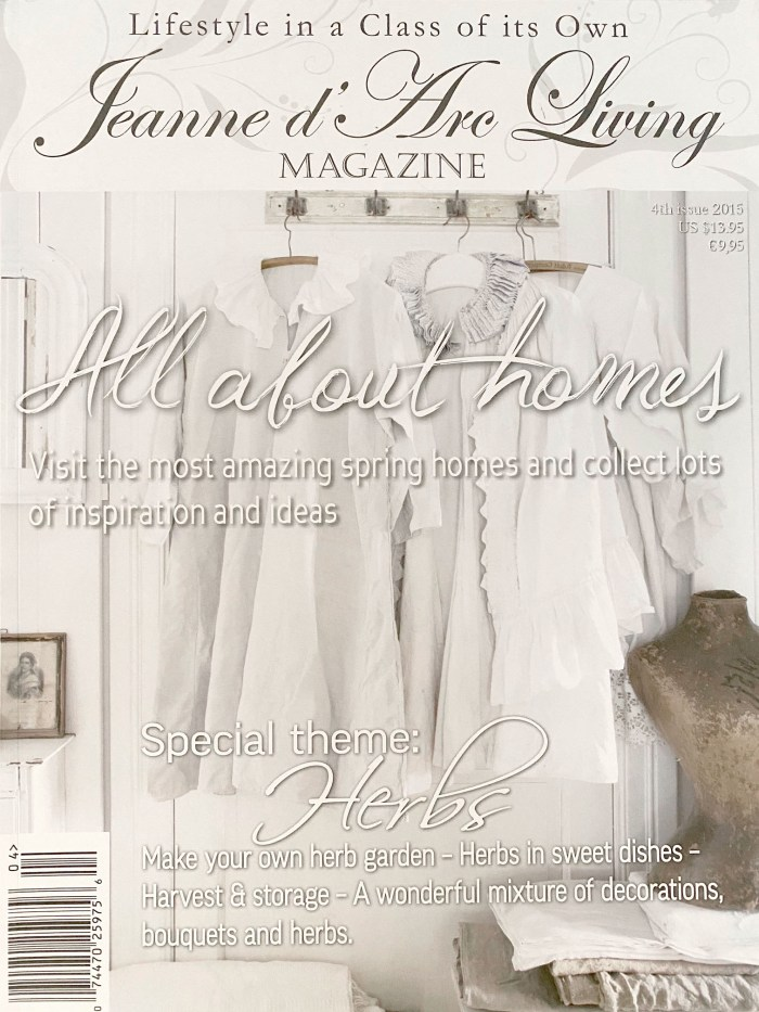 Jeanne D' Arc Living Magazines 4th Edition