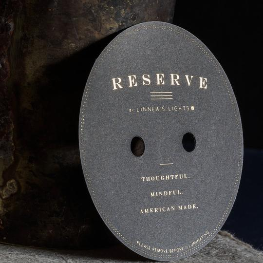 RESERVE Dark: CannaBliss 2-wick Candle