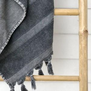 Cocoon Coal Towel