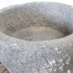 Antique Stone Mortar Bowl