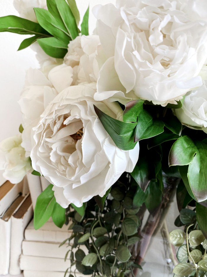 Natural Collection White Peony