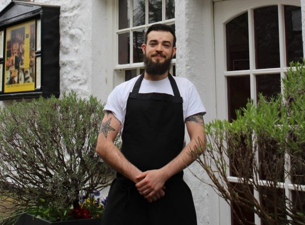 Joe Robinson, head chef at the Sun Inn Cropped