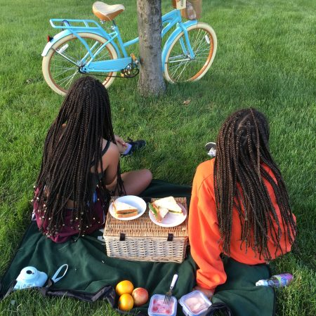 Children, Picnic, Black Girl Magic