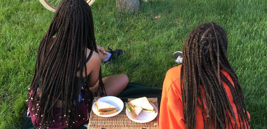 Children, Picnic, Black Girl Magic