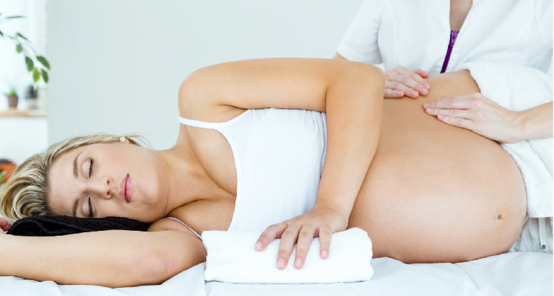 Prenatal Massage Therapy Blooming Baby 4D Ultrasound Studio