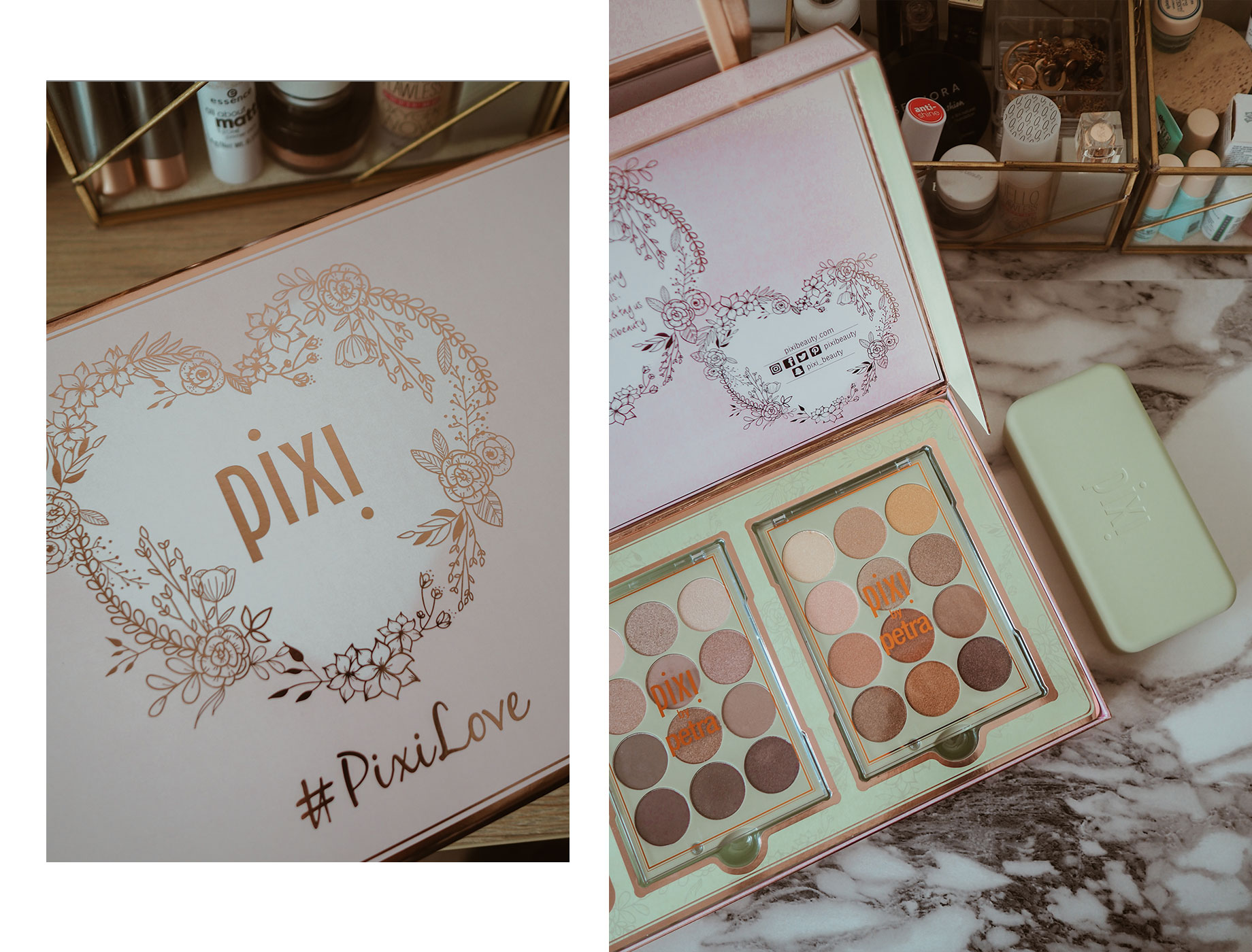 Pixi Beauty Eyeshadow Palette Review