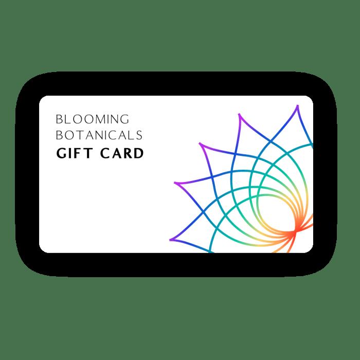 Blooming Botanicals CBD Gift Card