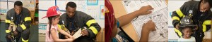 Bloomingdale Brief: Firefighter Dad Visits the 4s at Project Hope