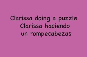 Clarissa Puzzle