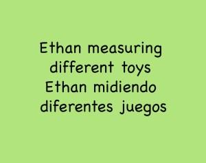 Ethan Measuring