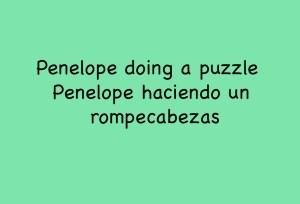 Penelope Puzzle