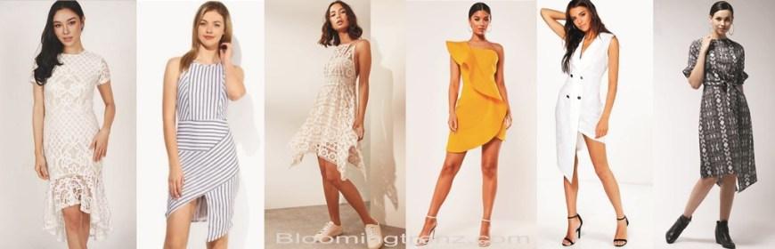 Asymmetric dresses