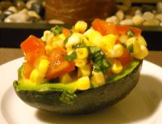 Raw stuffed avocados | Blooming Vegan