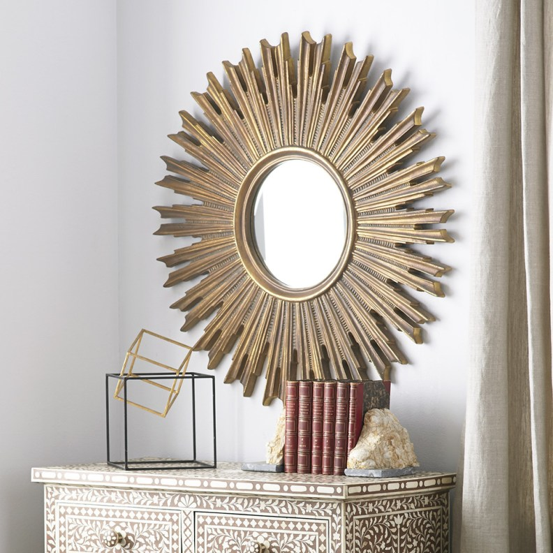 Sunburst on the Scene Mirror $299.00 Wisteria