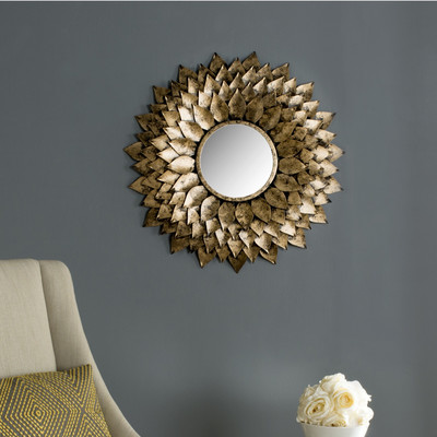 Sunburst Wall Mirror by Darby Home Co $164.99 Wayfair