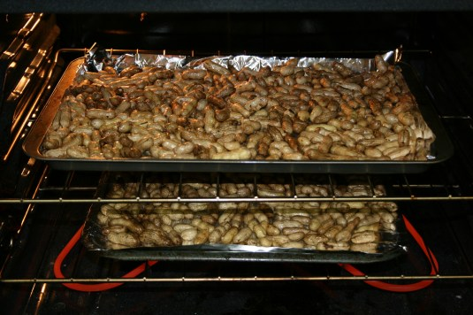 "oven-baked ""roasted"" peanuts"