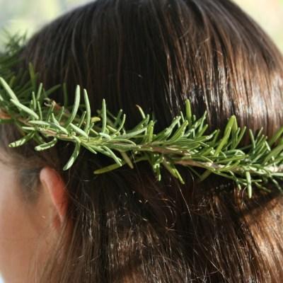 Vegetable Head Wreath