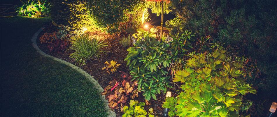 outdoor lighting installation services