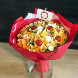bouquet de fromages rouge