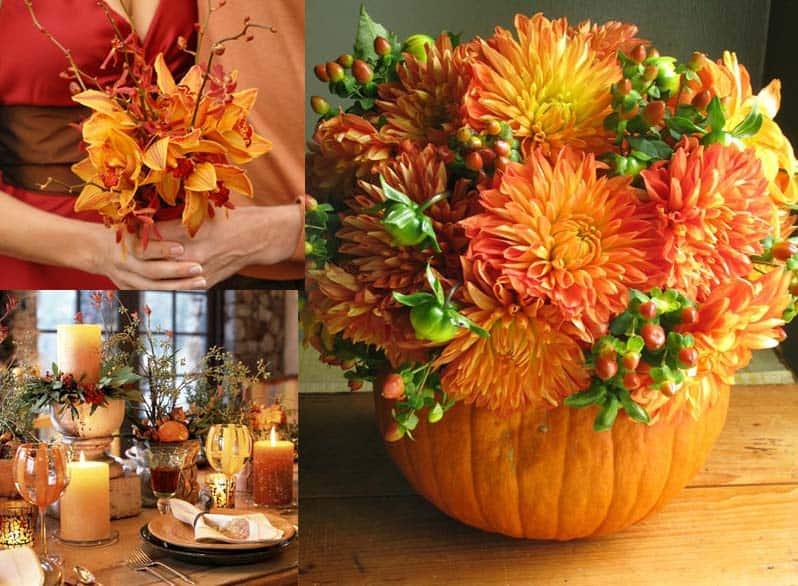 Fall Flower Arrangements For Your DIY Wedding!