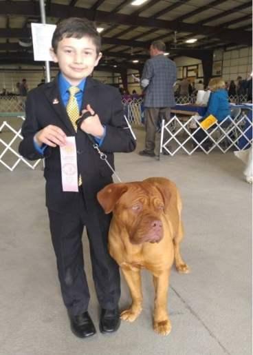 Junior Showing Award #2 Junior for Breed