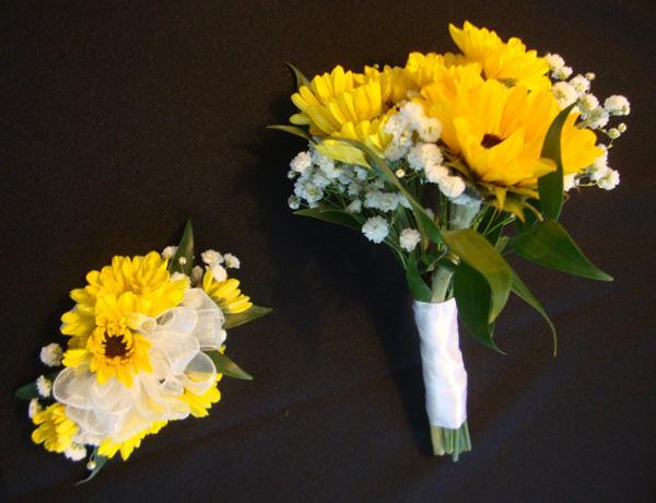 bouquetandcorsageyellow