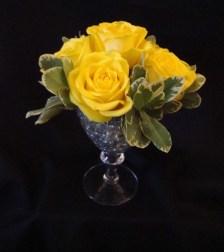yellowrosesinglass