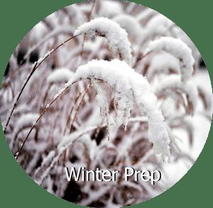 Winterize Your Gardens