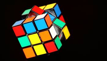 growth mindset behaviours such as completing a rubik's cube