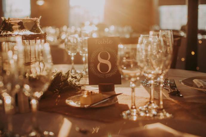 the west mill wedding wine glasses