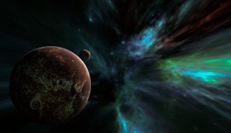 exoplanets rendition