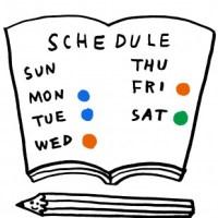 5月と6月のスケジュールを更新しました!