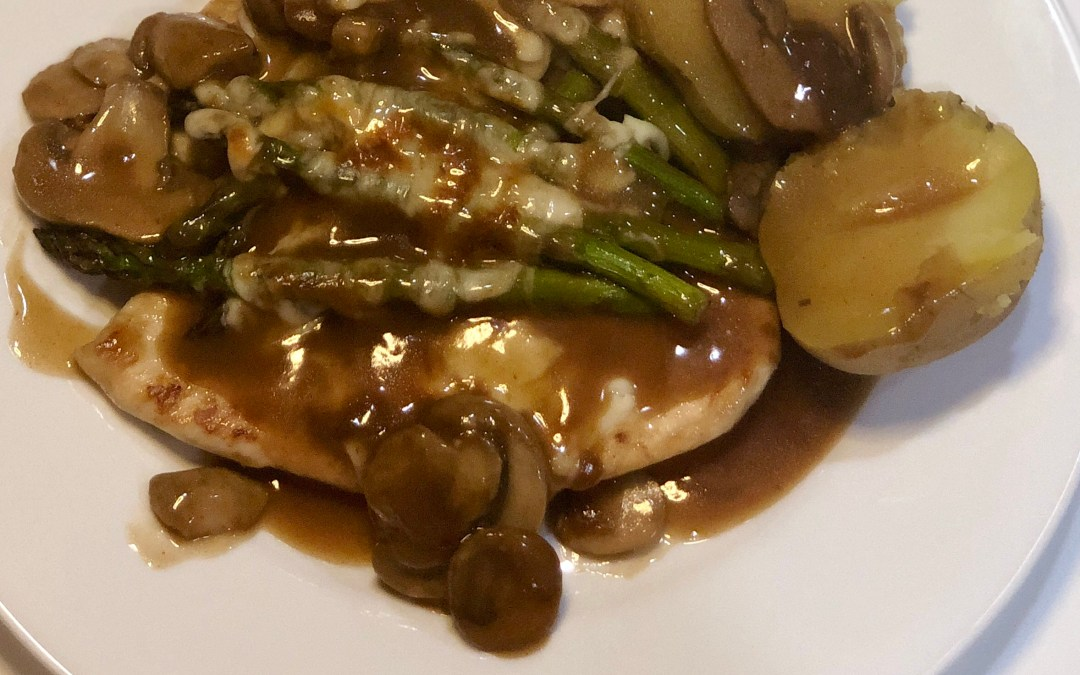 Simply Delicious Chicken Madeira (Better than Cheesecake Factory in your own home)