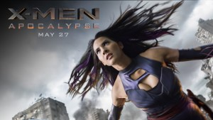 Olivia Munn's spandex clad psychic ninja has two speeds: surprised and needing to poop. (Courtesy: Marvel / 20th Century Fox)