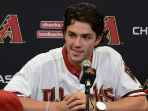Dansby Swanson was the No. 1 pick in the 2016 amateur draft by the Arizona Diamondbacks