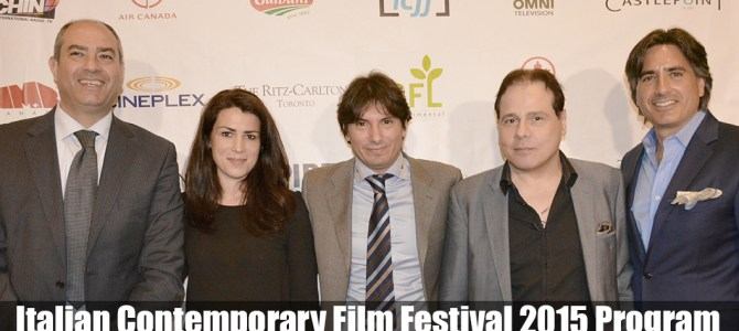 Italian Contemporary Film Festival 2015 Program