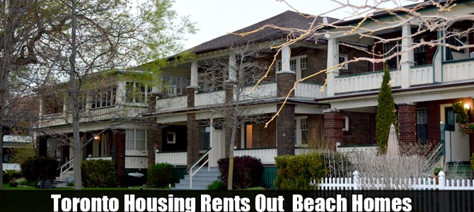 Wineva Ave Hubbard Blvd Toronto Housing Rents Out Prime Beach Homes