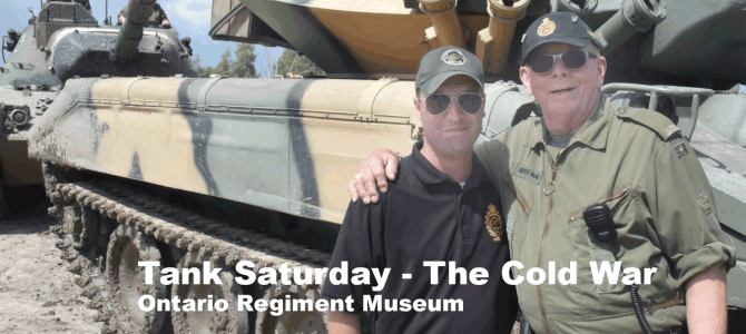 Tank Saturday Ontario Regiment Museum