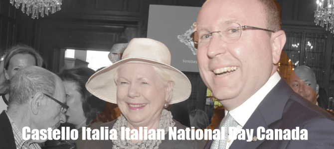 Castello Italia Italian National Day Canada