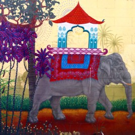 Elephant Graffiti, Clarion Alley, San Francisco