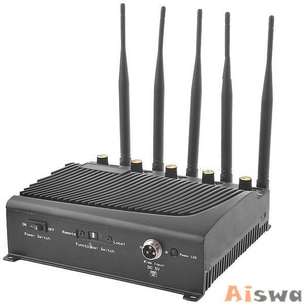 Bloqueador de GPS, Celular,GSM800, CDMA900 ,DCSPHSGSM1800-1900, Wifi 2.4Ghz e 3G