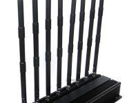 Profissional 8 antenas Refrigerado de Bloqueador de UHF VHF Celular GSM-GPS-3G-UHF-VHF-Lojack