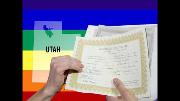 Utah Gay Marriage